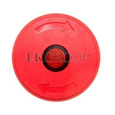 Napęd przycisku bezpieczeństwa czerwony przez obrót z podświetleniem LPCBL6644-99896