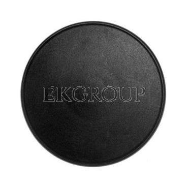 Napęd przycisku grzybkowego czarny z samopowrotem LPCB6162-99884