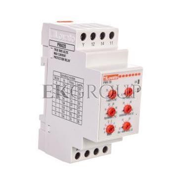 Przekaźnik kontroli prądu maksymalnego 1-fazowy 5/16A 24-240V AC/DC PMA20240-101976