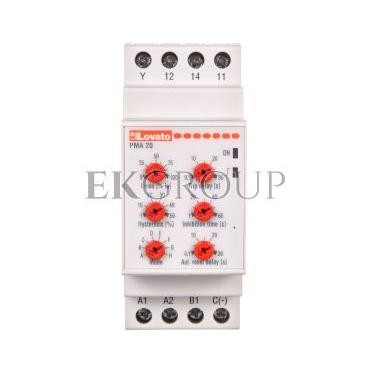 Przekaźnik kontroli prądu maksymalnego 1-fazowy 5/16A 24-240V AC/DC PMA20240-101977