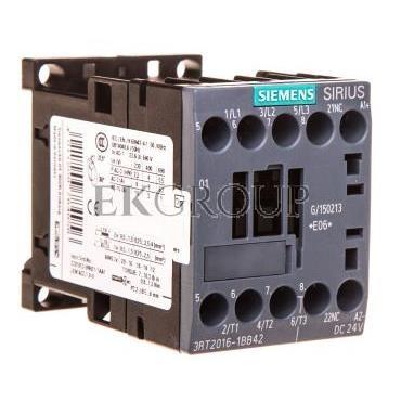 Stycznik mocy 9A 3P 24V DC 0Z 1R S00 3RT2016-1BB42-93451