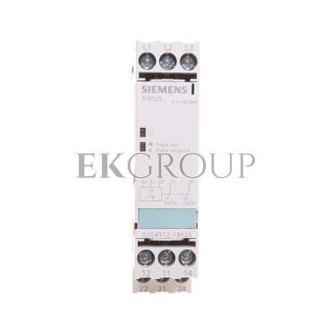 Przekaźnik kolejności i zaniku faz 3A 2P 0,45sek 160-690V AC 3UG4512-1BR20-101820