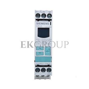 Przekaźnik kontroli prądu 1-fazowy 0,02-0,5A 1P 0,1-20sek 24-240V AC/DC 3UG4621-1AW30-101982