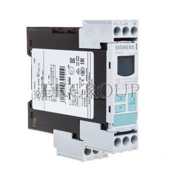 Przekaźnik kontroli prądu 1-fazowy 0,02-0,5A 1P 0,1-20sek 24-240V AC/DC 3UG4621-1AW30-101983