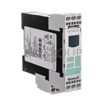 Przekaźnik kontroli prądu 1-fazowy 0,1-10A 1P 0,1-20sek 24-240V AC/DC 3UG4622-2AW30-101979