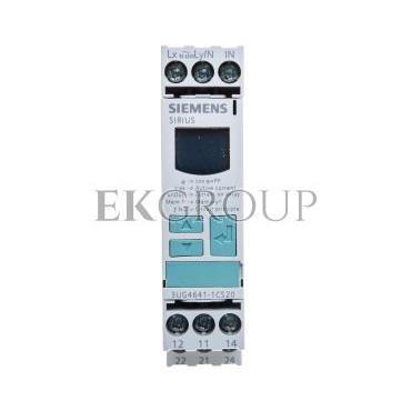 Przekaźnik kontroli współczynnika mocy 2P 0,1-20s 90-690V AC 3UG4641-1CS20-101980