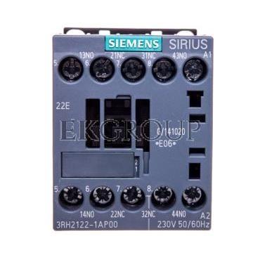 Stycznik pomocniczy 3A 2Z 2R 230V AC S00 3RH2122-1AP00-94535