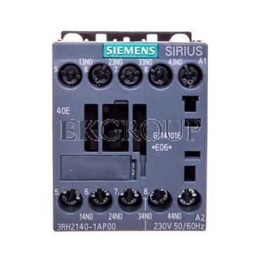 Stycznik pomocniczy 3A 4Z 0R 230V AC S00 3RH2140-1AP00-94569