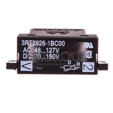 Układ tłumiący warzstor 48-127V AC 70-150V DC ze wkaźnikiem LED S0 3RT2926-1BC00-95511