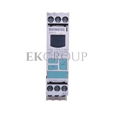 Przekaźnik kontroli napięcia 1P 17-275V AC/DC z wyświetlaczem LED 3UG4633-1AL30-101876