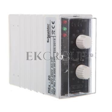 Przekaźnik pomiarowy napięciowy REX-20 80-260 AC/DC 2606893-101885