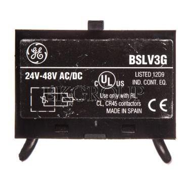 Ogranicznik przeciwprzepięciowy warystor 24V-48V AC/DC VAR.(CL..D..) BSLV3G 104720-101477