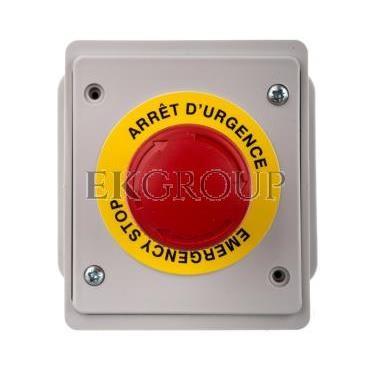 Przycisk alarmowy czerwony 1NC 10A 250V IP65EC69000E-99995