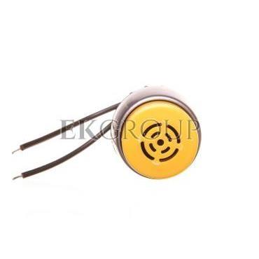 Sygnalizator dźwiękowy 24V AC pierścień niklowany ST22-SD-24AC\.-97560