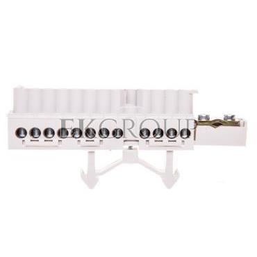 Listwa zaciskowa na szynę 1x25   12x16mm2 Cu biała Mi NK 14 HPL2000337-91078