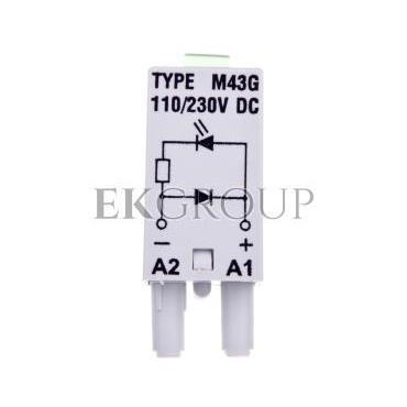 Układ ochronny dioda z sygnalizacją LD 110-230V DC 854845-98992