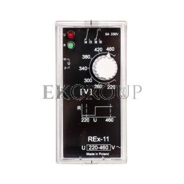 Przekaźnik kontroli napięcia 1-fazowy 2P 5A 220-460V AC REX-11 2605764-101871