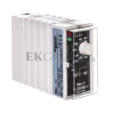 Przekaźnik kontroli napięcia 1-fazowy 2P 5A 220-460V AC REX-11 2605764-101872