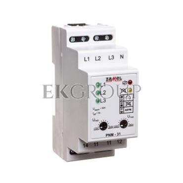 Przekaźnik napięciowy 3-fazowy 230/400V AC PNM-31 EXT10000105-101887