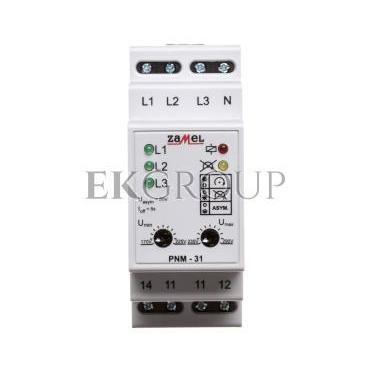 Przekaźnik napięciowy 3-fazowy 230/400V AC PNM-31 EXT10000105-101888