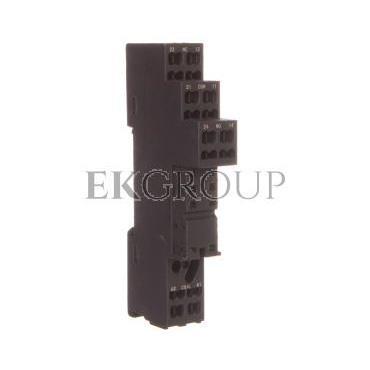 Gniazdo przekaźnika RM 10A 300V AC czarne GZMB80 2614582-97920