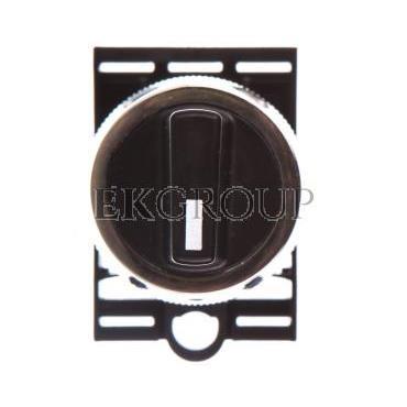 Napęd przycisku NEK22M-Pa fi22 pokrętny czarny W0-N-NEK22M-PA S-101142