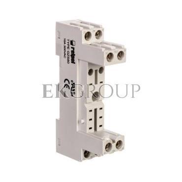 Gniazdo wtykowe do przekaźników 10A 300V AC szare GZS80 2613849-97922