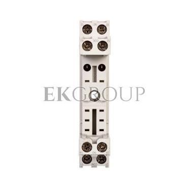 Gniazdo wtykowe do przekaźników 10A 300V AC szare GZS80 2613849-97923