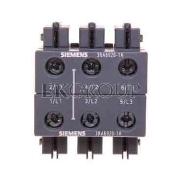 Złącze śrubowe torów głównych 3P 3RA6920-1A-90960