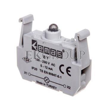 Element podświetlający zielony 100-230V AC do przycisków B LEDT0-BY-97477