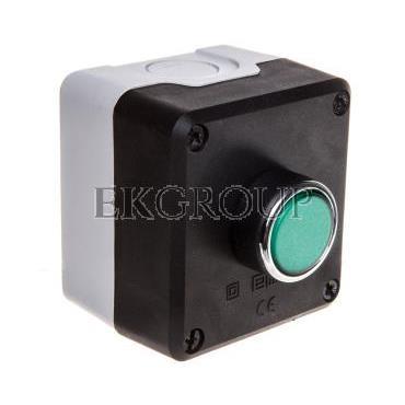 Kaseta sterownicza 1-otworowa zielony 1Z szara IP65 T0-P1C300DY-98400