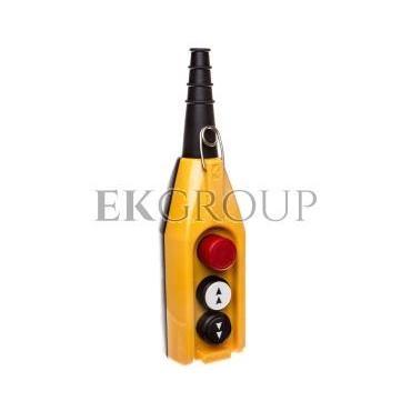 Kaseta sterownicza kompletna 3-otworowa strzałki GÓRA/DÓŁ, STOP 30mm, dwie prędkości T0-PV3E30B4-98408