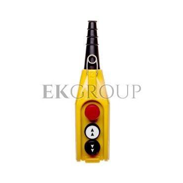 Kaseta sterownicza kompletna 3-otworowa strzałki GÓRA/DÓŁ, STOP 30mm, dwie prędkości T0-PV3E30B4-98409