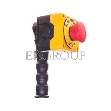 Drążek sterowniczy z przyciskiem awaryjnego stopu metalowy T0-PDABE-98425