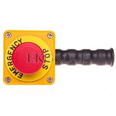 Drążek sterowniczy z przyciskiem awaryjnego stopu metalowy T0-PDABE-98426