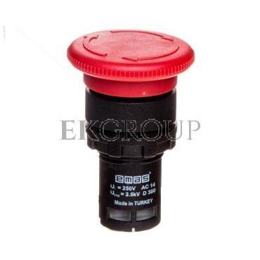 Przycisk sterowniczy monoblok bez samopowrotu czerwony 1R T0-MB200E-99914