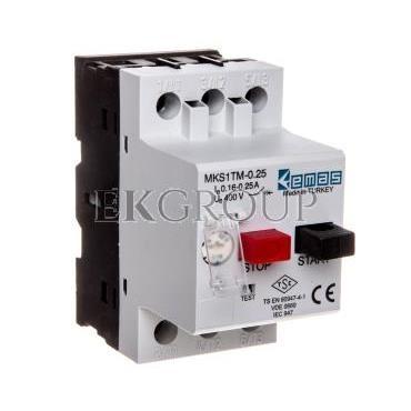 Wyłącznik silnikowy 3P 0,06kW 0,16-0,25A T0-MKS1TM-0.25-97007