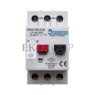 Wyłącznik silnikowy 3P 0,06kW 0,16-0,25A T0-MKS1TM-0.25-97008