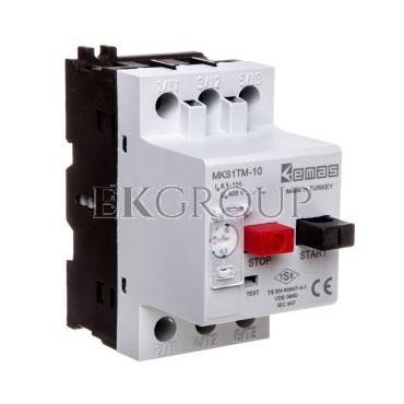 Wyłącznik silnikowy 3P 4kW 6.3-10A T0-MKS1TM-10-97017