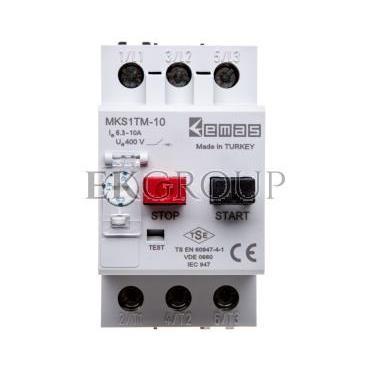 Wyłącznik silnikowy 3P 4kW 6.3-10A T0-MKS1TM-10-97018