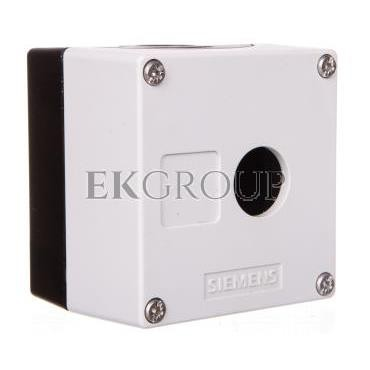 Obudowa kasety 1-otworowa 22mm czarno-szara M20 IP69k Sirius ACT 3SU1801-0AA00-0AB1-101337