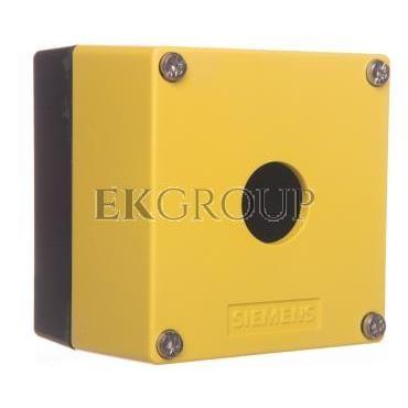 Obudowa kasety 1-otworowa 22mm czarno-żółta M20 IP69k Sirius ACT 3SU1801-0AA00-0AA2-101347