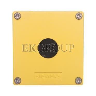 Obudowa kasety 1-otworowa 22mm czarno-żółta M20 IP69k Sirius ACT 3SU1801-0AA00-0AA2-101348