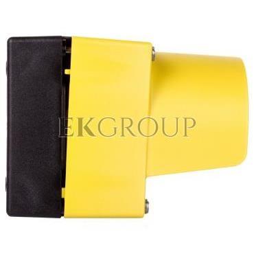Obudowa kasety 1-otworowa 22mm czarno-żółta z kołnierzem M20 IP69k Sirius ACT 3SU1801-0AA00-0AC2-101350