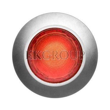 Napęd przycisku 30mm czerwony z podświetleniem bez samopowrotu metalowy matowy IP69k Sirius ACT 3SU1061-0JA20-0AA0-100906