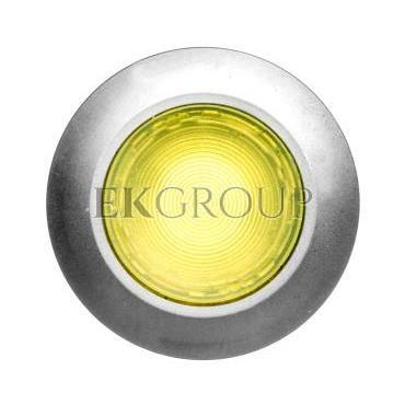 Napęd przycisku 30mm żółty z podświetleniem bez samopowrotu metalowy matowy IP69k Sirius ACT 3SU1061-0JA30-0AA0-100912