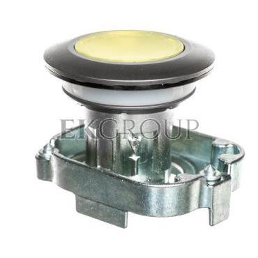 Napęd przycisku 30mm żółty z podświetleniem bez samopowrotu metalowy matowy IP69k Sirius ACT 3SU1061-0JA30-0AA0-100913