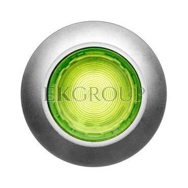 Napęd przycisku 30mm zielony z podświetleniem bez samopowrotu metalowy matowy IP69k Sirius ACT 3SU1061-0JA40-0AA0-100918