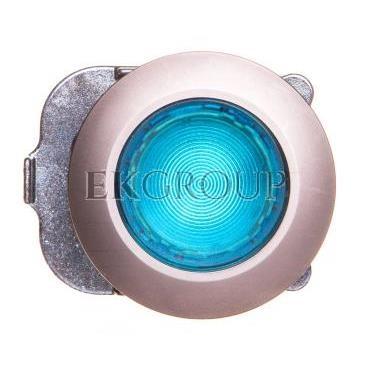 Napęd przycisku 30mm niebieski z podświetleniem bez samopowrotu metalowy matowy IP69k Sirius ACT 3SU1061-0JA50-0AA0-100922