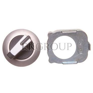 Napęd przełącznika 2 położeniowy O-I 30mm biały z podświetleniem z samopowrotem metal mat IP69k Sirius ACT 3SU1062-2DC60-0AA0-99